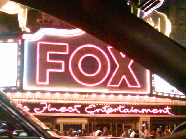 close up of the fox sign